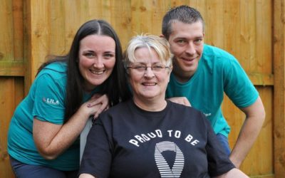 Falkirk couple skydive for NCUK